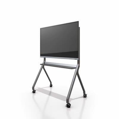 大型向け移動可能なTVスタンド 86インチ対応まで対応の移動向けスタンド インタラクティブホワイトボード