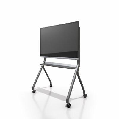 TVスタンド 86インチ対応まで対応の移動向けスタンド インタラクティブホワイトボードAnshiTOUCH