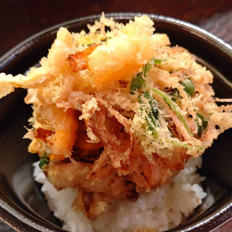 【テイクアウト】小エビかき揚げ丼のイメージその2