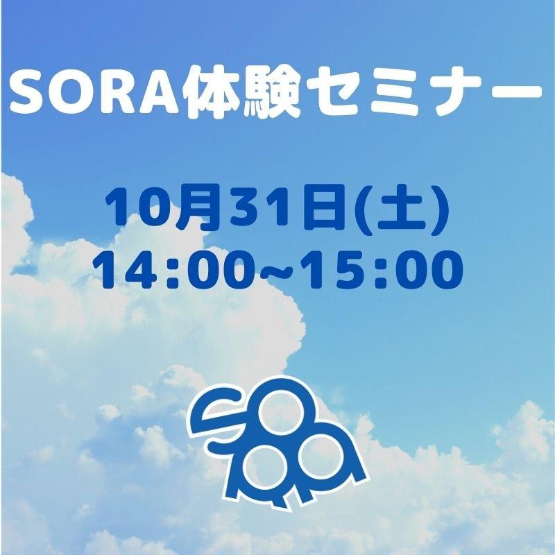 SORA体験セミナー 10月31日のイメージその1