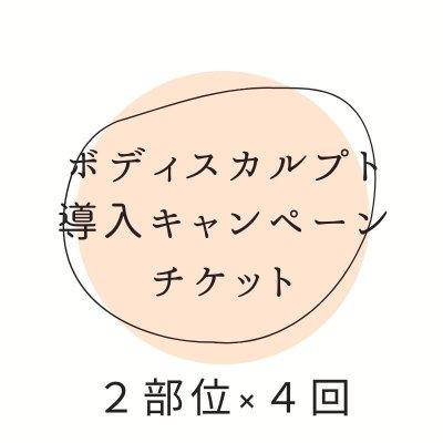 【クレジットカード決済不可】ボディスカルプト体験キャンペーン 2部位×4回 期間限定!アンラポール会員様特典②-a