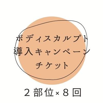 【クレジットカード決済不可】ボディスカルプト体験キャンペーン 2部位×8回 期間限定!アンラポール会員様特典②-b