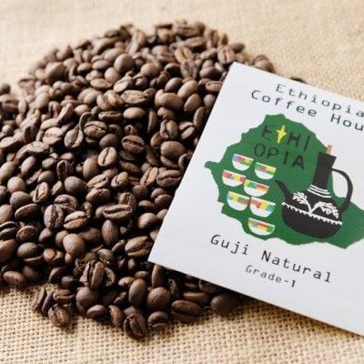 エチオピアコーヒー ロースト豆 グジ ブレホラ ナチュラル 500g【Ethiop...