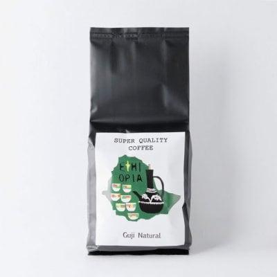 エチオピアコーヒー ロースト豆 グジ ブレホラ ナチュラル 100g【Ethiopian Coffee House】