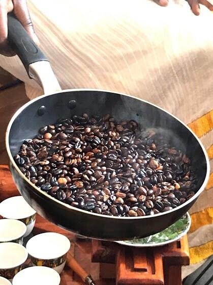 エチオピアの伝統的なコーヒーセレモニー体験 in November ②部【Ethiopian Coffee House】のイメージその2