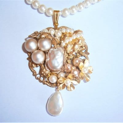 209F1-1  THEMIRIAM HASKELL Parts Beauty Necklace 29700円(税込)