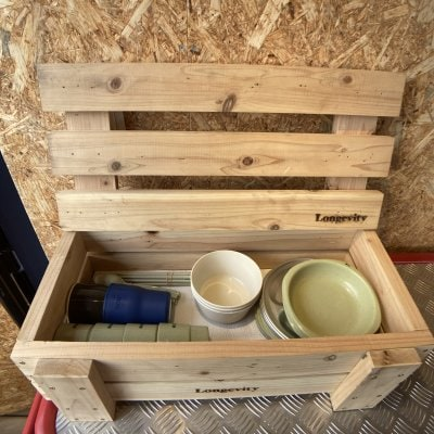 DIY 〜クラフトBOXキット〜 木製収納ボックス/高さ15cm×幅59cm×奥行28cm