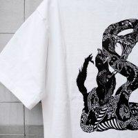 ハブマンTシャツ 白
