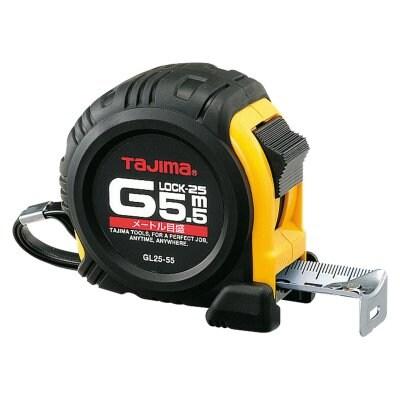 TJMデザイン(タジマ)コンベックス Gロック GL25-55BL