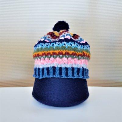 ウール手織り帽子子供サイズ