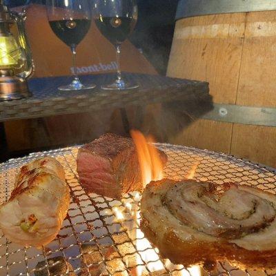 【店頭受け取り】キャンプ・BBQなどアウトドアに!ΦのBBQ肉盛りセット