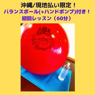 沖縄/店頭払い限定!バランスボール【ギムニク55】+ハンドポンプ+初回レッスン付き!