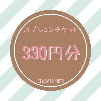 オプション 330円チケット