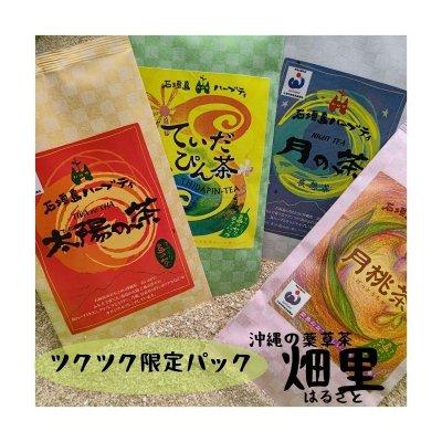 石垣島薬草茶ハーブティーセット【ツクツク限定数量セット】海の花