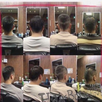 男性カット(顔剃り、シャンプー、セット込み)【大阪京橋 HairBox WAGO 】