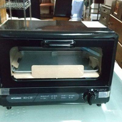 【美品】三菱オーブントースター