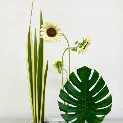 型のない生け花〜自分と繋がる時間