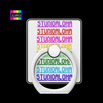 スタジオアロハオリジナル デザイン携帯リング001