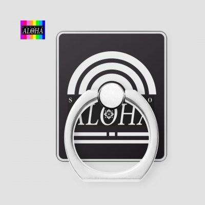スタジオアロハオリジナル デザイン携帯リング002