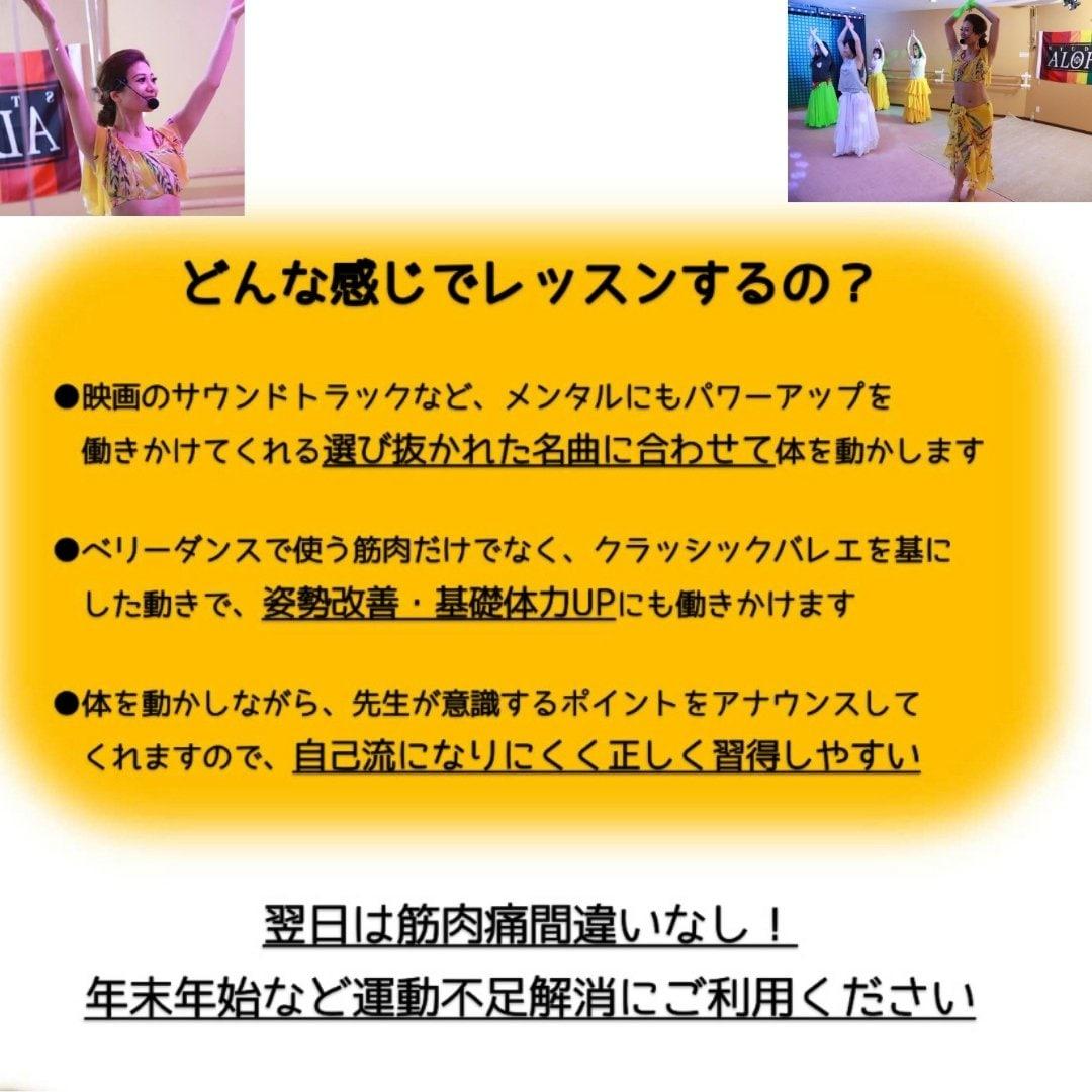 【会員】ダイエットレッスン (180分)/ダンスダイエットで痩せるスタジオアロハのイメージその3
