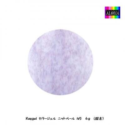 Raygel カラージェル ニットベール N5 4g (国産)