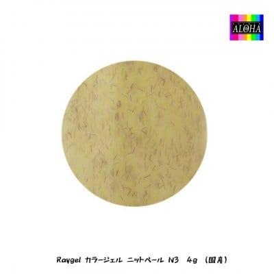 Raygel カラージェル ニットベール N3 4g (国産)