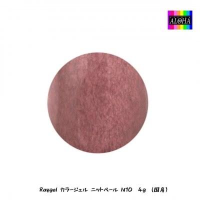 Raygel カラージェル ニットベール N10 4g (国産)