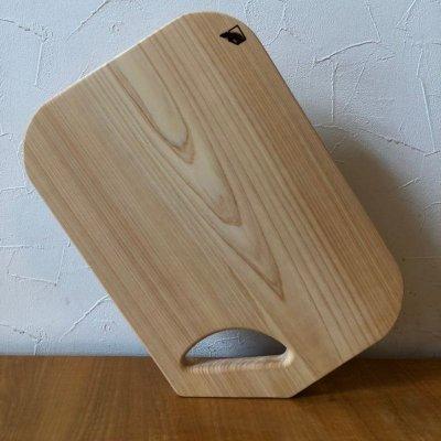 岐阜【天然木】ヒノキまな板 大きいサイズ 縦24cm、横35cm、厚み2cm