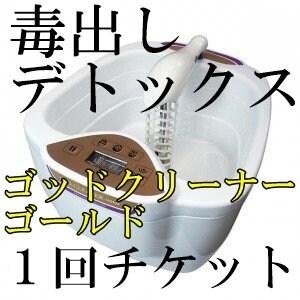 【1回分チケット】重金属デトックス ゴッドクリーナー