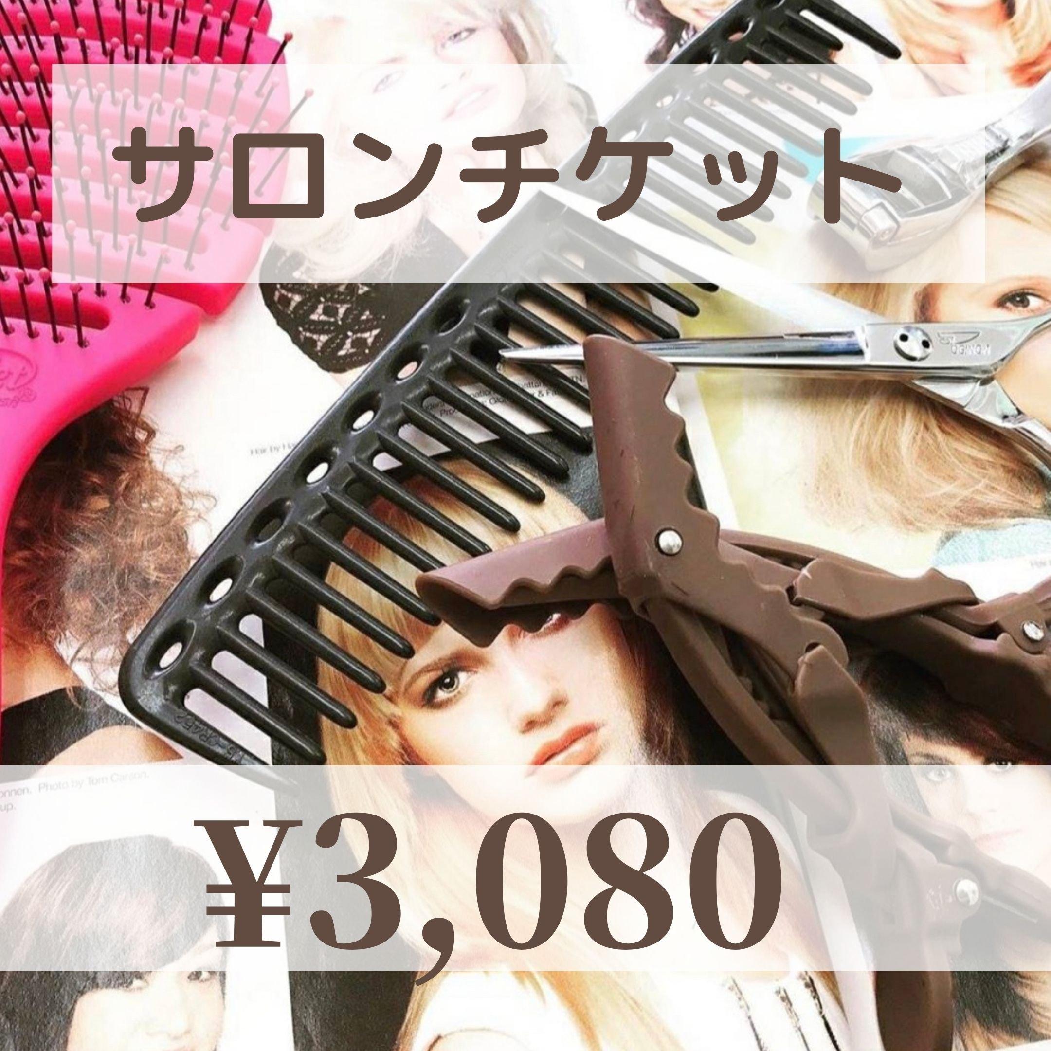 【現地払い専用】サロンチケット¥3080のイメージその1