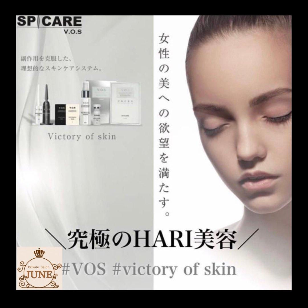 【初回お試し】最高レベルの肌変化 V .O .S 〔victory of skin 〕 究極のHARIケアのイメージその1