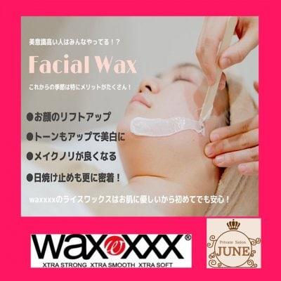 【初回お試し】 WAX XXXスキンケア脱毛 美肌効果をもたらす 新世代ワックス
