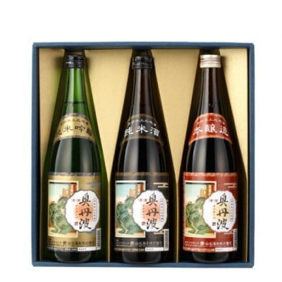 奥丹波3種飲み比べセット 720ml×3本 山名酒造株式会社