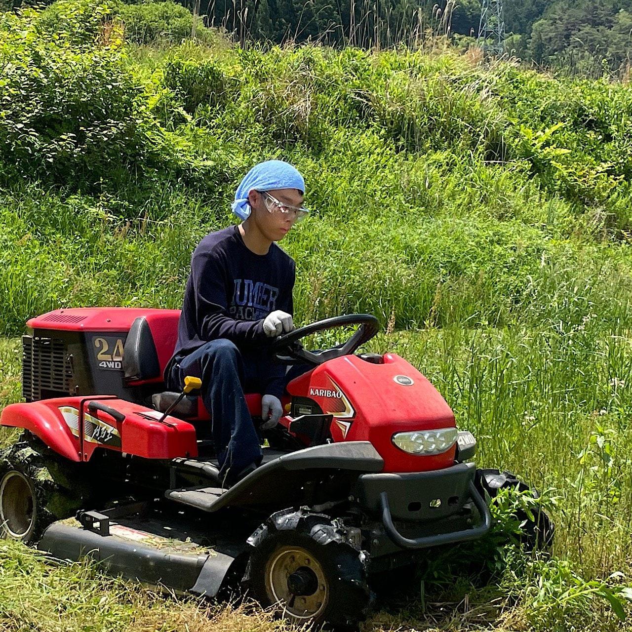 草刈り体験プログラムのイメージその3