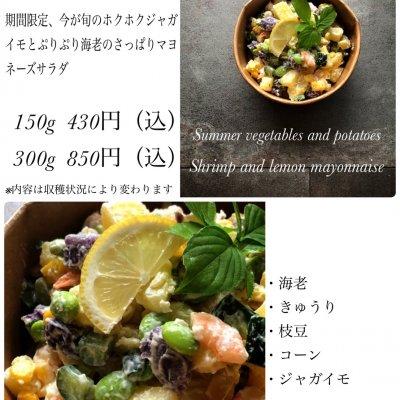 じゃがいもと海老のレモンマヨネーズ/300g/期間限定/サラダ専門店
