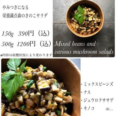 ミックスビーンズと色々きのこのサラダ/150g/サラダ専門店