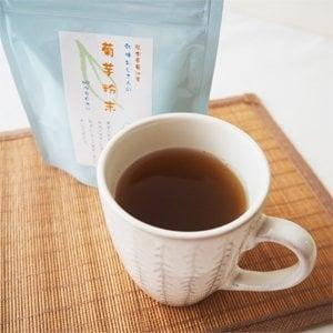 熊本県産 菊芋茶粉末40g 国産 無添加 ノンカフェイン キクイモ茶