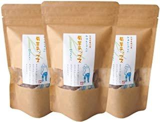 熊本県産 そのまま食べれる 菊芋チップス40g 国産 無添加 ノンカフェイン3袋