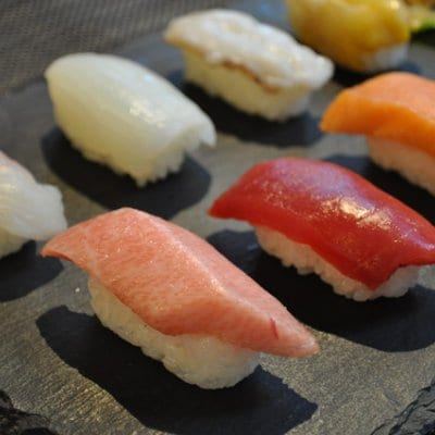 冷凍握り寿司
