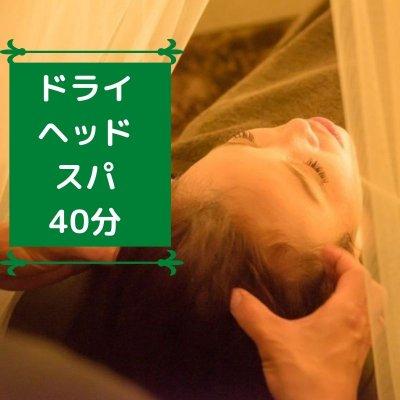 ドライヘッドスパ40分   町田 五感を癒すプライベートサロン 花笑mine(はなえみん)