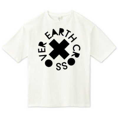 【受注生産】EarthCrossOver /BIG TEE (ホワイト)