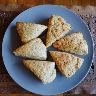 ビーガンスイーツ 九州産小麦と高千穂バターのスコーン 1個