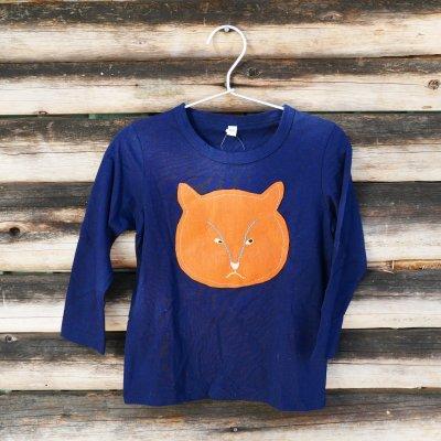にゃんくるにゃいロングTシャツ|世界に一つだけのアートTシャツ|わかなんくるないサービス