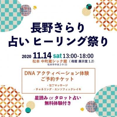 11/14 DNAアクティベーション体験チケット -  星読み  or タロット占い無料体験付き -[現地支払いのみ]