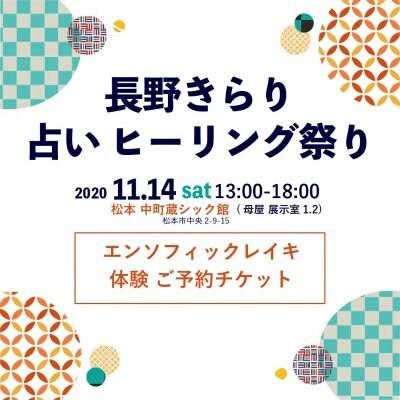 11/14 エンソフィックレイキ体験チケット[現地支払いのみ]
