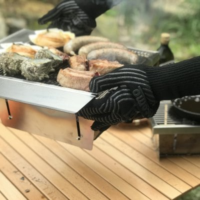 BBQ耐火&耐熱グローブ(ブラック)