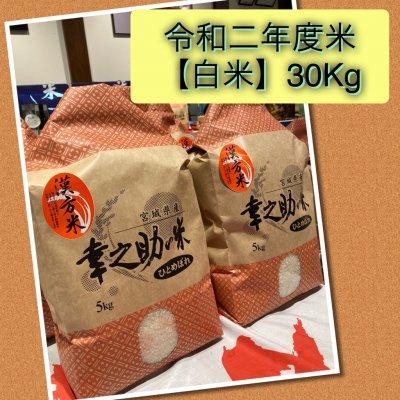 ⭐令和2年度白米⭐幸之助の米(白米)30kg 送料無料