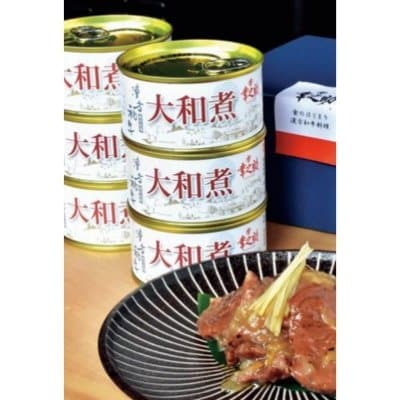 グルメ缶詰★漢方牛・大和煮缶詰(6個入り)★