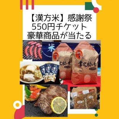 ★大感謝祭★ 漢方米 幸之助の米感謝の気持ち【抽選チケット550円】もれなく漢方米2kgがもらえます...