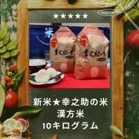 ⭐新米令和3年度米⭐漢方米幸之助の米 ひとめぼれ(白米or玄米)10kg